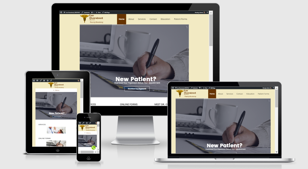 Dental Practice Website
